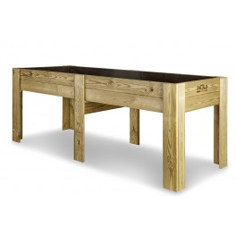 Mes de cultivo de madera (200x80x80)