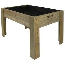 Mes de cultivo de madera (120x80x80)