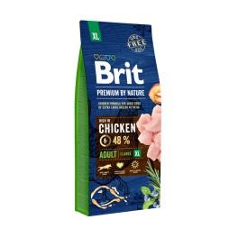 Brit Premium By Nature Adult XL de pollo (15kg)