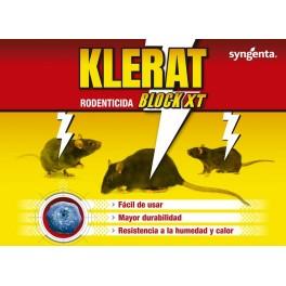 Raticida Klerat Block XT (300 gr)