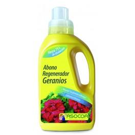 Abono líquido Regenerador de geranios Asocoa (600 ml)