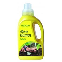 Abono líquido humus ecológico Asocoa (1 litro)