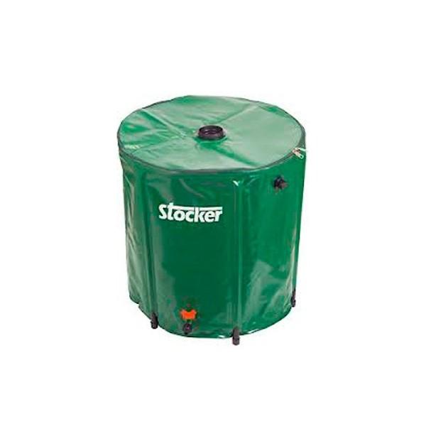 Dep sito de agua pluvial 225 litros germigarden for Deposito agua pluvial
