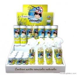 Tarro repelente de mosquitos Citronella Kids (30 ml)